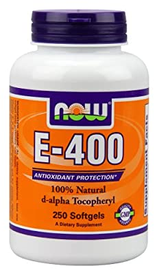 NOW Foods E-400, 250 Softgels