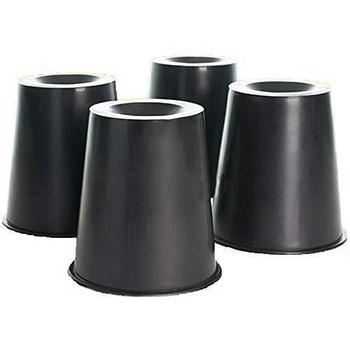 Mobiclinic, Elevadores conicos para camas y sillas, 4 uds, 15x7x15 cm