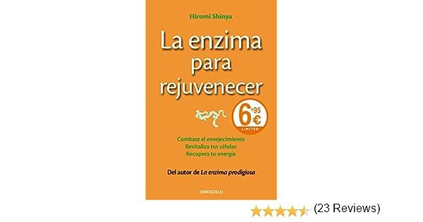 La enzima para rejuvenecer: Combate el envejecimiento, revitaliza ...