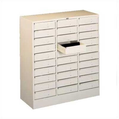Tennsco 3085 30 Drawer Organizer, Legal Size Color: Light Grey ()
