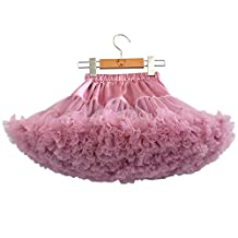 Baby Little Girls' Layered Ruffled Tulle Tutu Skirt Princess Ballet Dance Dress