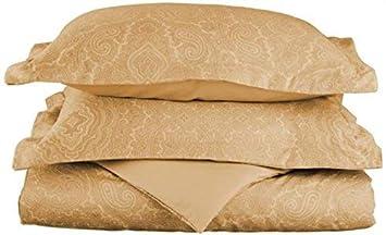 Deep Pocket Paisley Blue Superior BLQNSHIP600CR Soft Cotton Blend 600 Thread Count Wrinkle Resistant 4-Piece Queen Bed Sheet Set