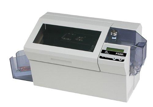 Zebra Eltron P320i ID COLOR Card Printer Photo ID Magnetic Encoder