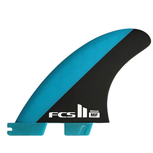 エフシーエス ( FCS ) FCSII MF PC Tri set MEDIUM ミックファニング サーフィン ショートボード フィン トライフィン   B07CMD151T