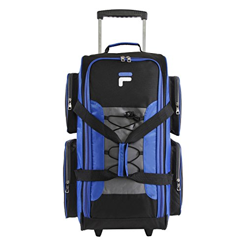 Fila 26'' Lightweight Rolling Duffel Bag, Blue, One Size by Fila (Image #8)