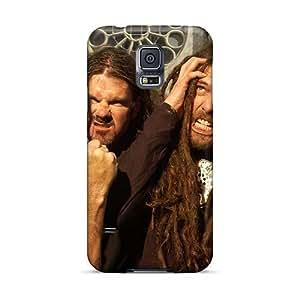 AlainTanielian Samsung Galaxy S5 Shock Absorbent Cell-phone Hard Covers Custom HD Morbid Angel Band Pictures [bQj10887fVyT]