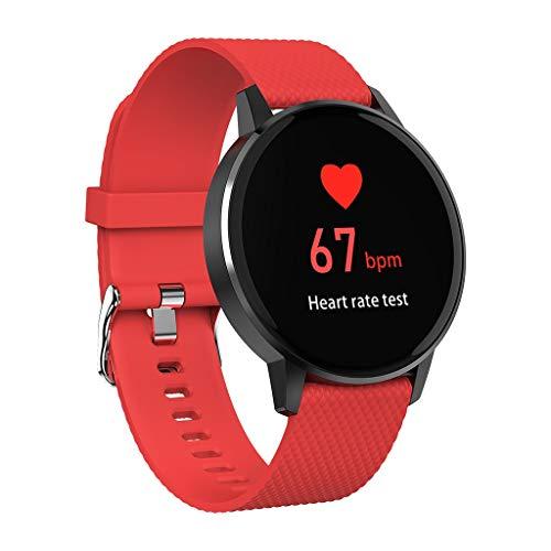 Eoeth  Smart Watch Bracelet KW19 Waterproof IP117 Blood Pressure Heart Rate Monitor Sport Smartwatch      (Red Alert 3 Xbox 360)