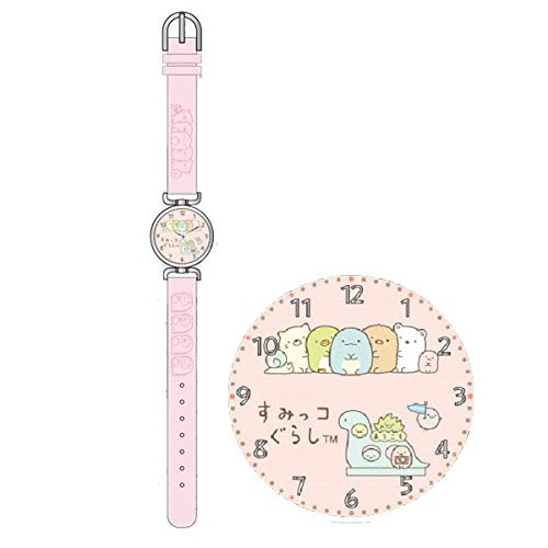 Sumikko Gurashi Wristwatch (Tokage and Mom)Pink