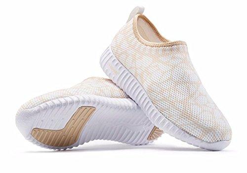 Walking Gold Leisure Women's ONEMIX Sneaker Running Breathable Shoes w4axIPq