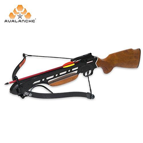(Manticore    Avalanche Trailblazer Crossbow Wooden Stock 150-lb, One)