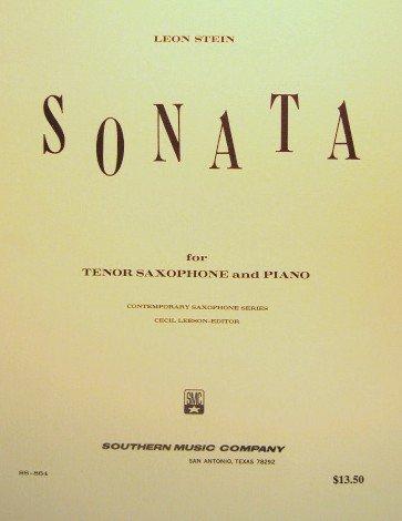 Southern Music Stein Sonata for Tenor Saxophone