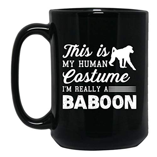 I'm Really A Baboon Coffee Mug, Iced Coffee Mug, Teacup for sale  Delivered anywhere in USA