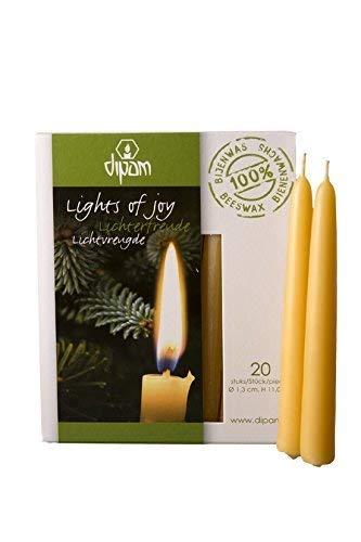 Dipam Beeswax Lights of Joy Christmas Tree Candles 4