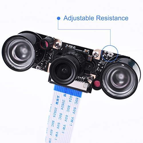 kuman Módulo de Cámara para Raspberry Pi 5MP 1080p OV5647 Sensor ...