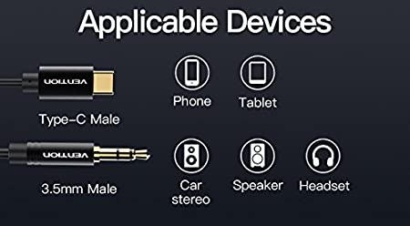 iPod Laptop,Power Amplifier,Microphone and Guitar /¡/­ VENTION 10FT 24K 15U Gold Plated 3.5mm 1//8 Male to 6.35mm 1//4 Male TRS Stereo Audio Cable with PVC Infection Molding Shell Design for iPhone