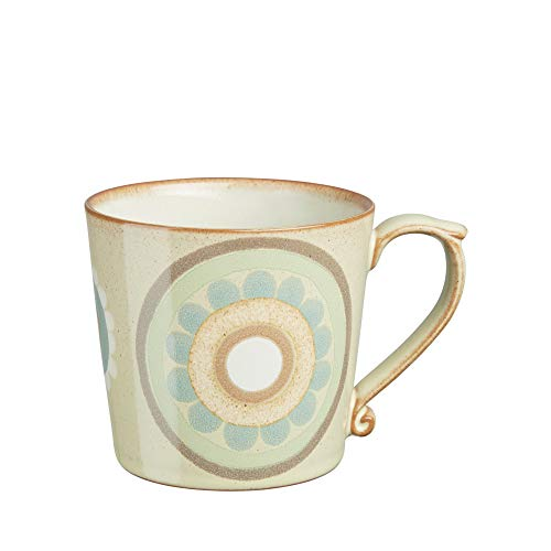 (Denby Heritage Veranda Accent Mug, Large, Yellow)