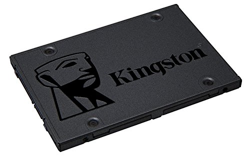 "Kingston Digital A400 SSD 480GB SATA 3 2.5"" Solid State Drive SA400S37/480G - Increase Performance"