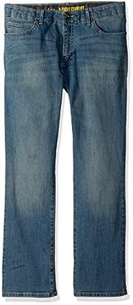 Lee Big Boys' Sport X-Treme Comfort Jean, Otley, 8 Slim