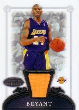 8153263dea7 2006   07 Bowman Sterling  10 Kobe Bryant Game Worn Jersey ...