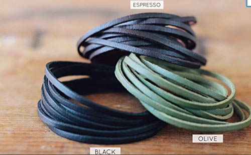 Enjoy The Journey Stacking Bracelet Yoga Jewelry Positive Gifts | Yoga Gift Inspirational Jewelry Faux Leather Suede Stack