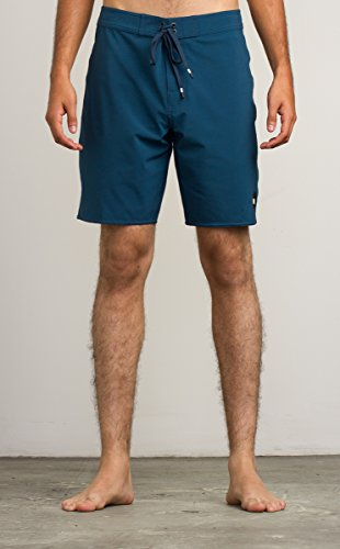 RVCA Men's VA Trunk Boardshort, Neptune Blue, 36