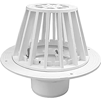 Oatey 78014 Pvc Roof Drain With Plastic Dome 4 Inch