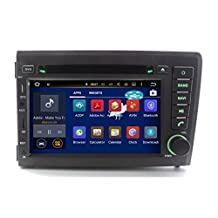 XTTEK 7 inch HD 1024x600 Multi-touch Screen in dash Car GPS Navigation System for Volvo S60 / V70 2001-2004 Quad Core Android DVD Player+Bluetooth+WIFI+SWC+Backup Camera+North America Map