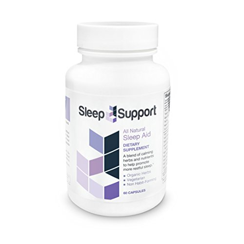 SleepSupport - All Natural Organic Sleep Aid Supplement