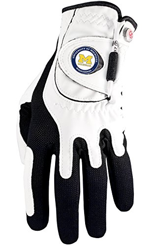 Zero Friction NCAA Michigan Golf Glove, Left Hand   B00WHESF0Y