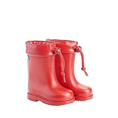 3626b3893 Igor Botas de agua para niño o niña en Rojo con borreguito