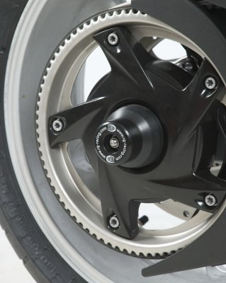 R/&G Swingarm Protectors in Black SP0032B