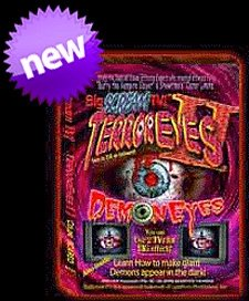 Terror Eyes TWO Special Edition DVD By Bigscream Tv (Terror Eyes Halloween Dvd)