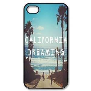 Individual fixed California Dreamin iPhone 4 / 4S Cover, Snap On California Dreamin iPhone 4 / 4S