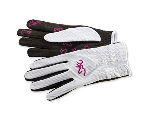 Browning Women's Trapper Creek Gloves, White, Medium ()