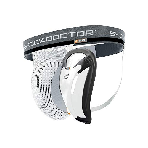 Shock Doctor Jock Strap Supporter with BioFlex Cup Included. Core Protective Sports Athletic Cup. Adult Men & Youth Sizes