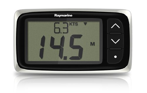 Transducer Hull Mounting Thru - Raymarine i40 Bi-Data with Thru-Hull Transducers Raymarine i40 Bi-Data System