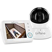 Levana Astra Digital Baby Video Monitor with Talk to Baby Intercom (32006)
