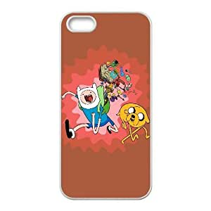Adventure Time Cartoon iPhone5s Cell Phone Case White Phone Accessories VRK93674