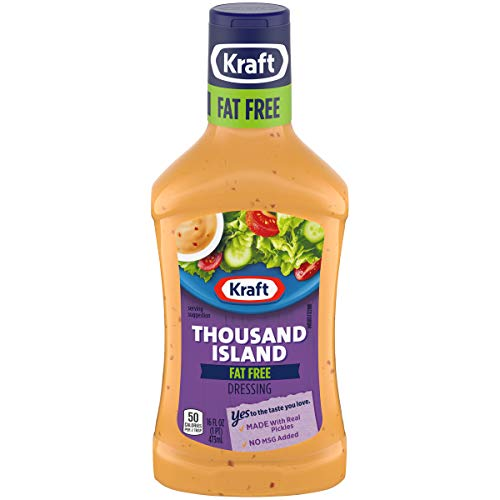 (Kraft Thousand Island Fat-Free Dressing, 16 fl oz Bottle)