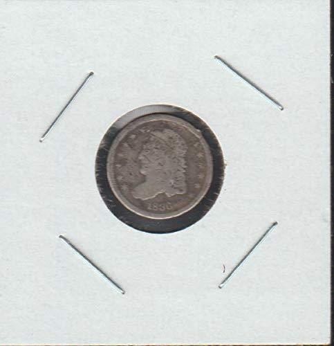 1836 Capped Bust (1829-1837) Half Dime About Good -