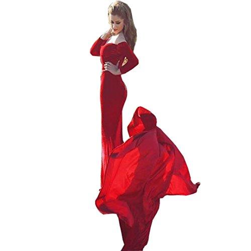 issa red long dress - 7