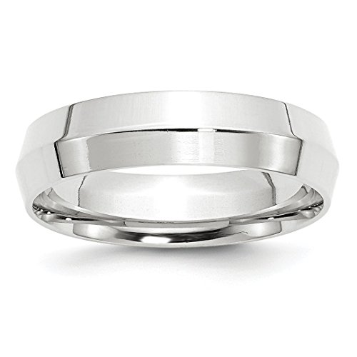 5mm Knife Edge Wedding Ring Band Size 6.00 Classic Comfort Fit Fashion Jewelry Ideal Gifts For Women Gift Set From Heart (Hearts Ring Palladium Ring)