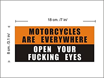 Amazon.com: Funny Motorcycle Stickers