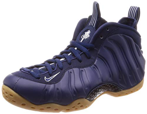 Nike Mens Air Foamposite One Basketball Shoe (10), Navy (Basketball One Shoes)