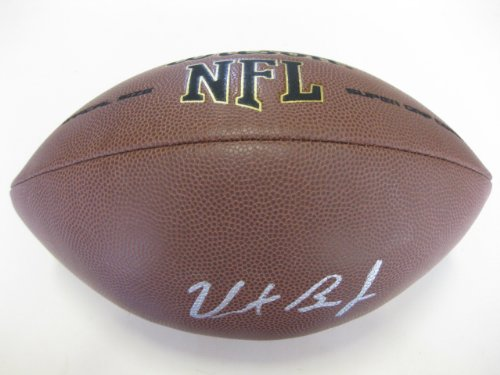 Vincent Brown, San Diego Chargers, San Diego State, Signed, Autographed, NFL Football, a COA with the Proof Photo of Vincent Signing Will Be - Brown Football San Chargers Diego