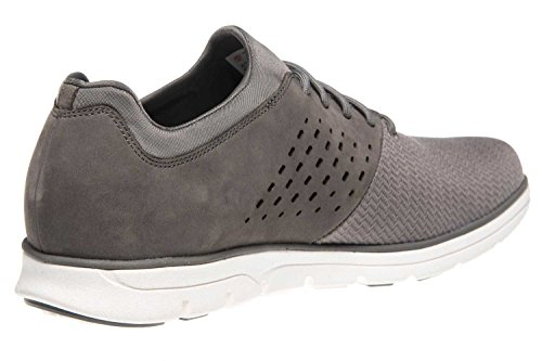 Timberland CA1PE4 Mens Graphite Leather Sneakers, 13.5 UK
