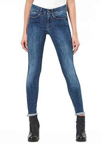 RAW STAR Jeans denim Skinny G blu Donna 0x5vnqdngw