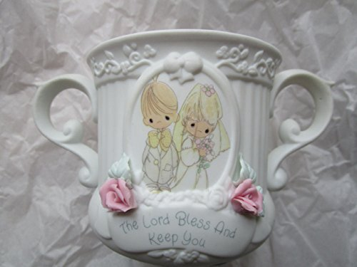 Handled Hug (Precious Moments Double Handled Wedding Cup, the Lord Bless and Keep You)