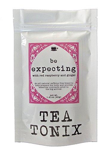 ATTENDREZ thé grossesse avec du rouge framboise, gingembre et orties 40g - à l'aide de préparer le corps et fournissent des nutriments essentiels avant le grand jour de thé Tonix