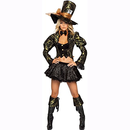Tea Party Tease Boot Cuffs Costume (Adult Tea Party Tease Halloween Costumes)